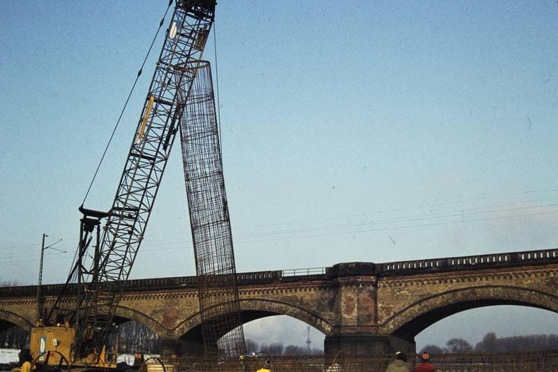 Hammer Eisenbahnbrücke, Rheinbrücke