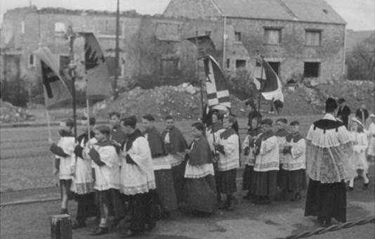 Kommunions-Prozession