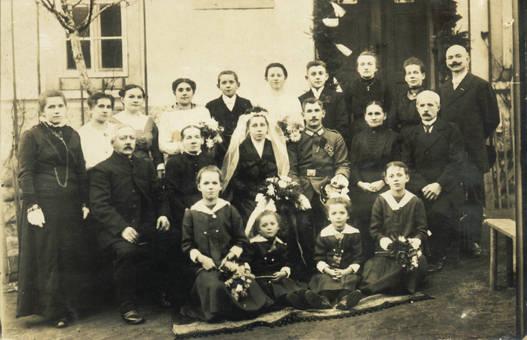 1913: Tante Annas Hochzeit