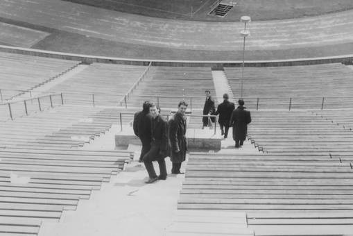 Im Stadion