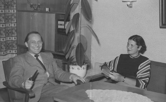 Wohnzimmer 1954