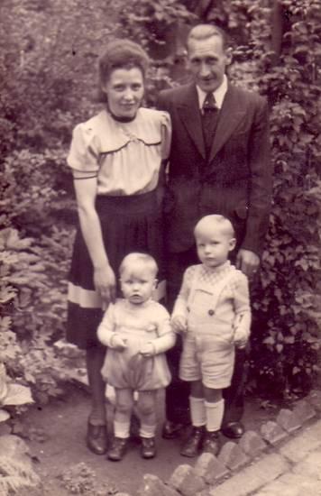 familie, familienfoto, Kindheit, sohn