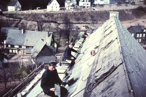 Dacharbeiten in Eisern