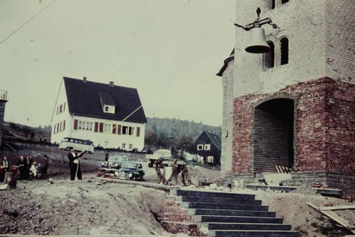 Kirchglocke in Eisern