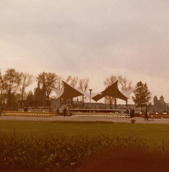 köln, Rheinpark, Tanzbrunnnen