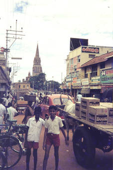 Indien Überlandtrip 1977