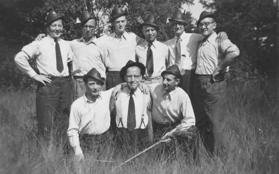 Männer mit Hut