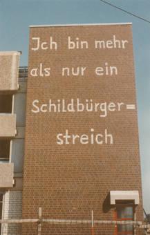"""""""Schildbürgerstreich"""""""