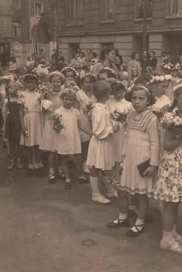 Christentum, Gebetbuch, Glaube, kinder, Kindheit, köln, Pfarrprozession, Prozession