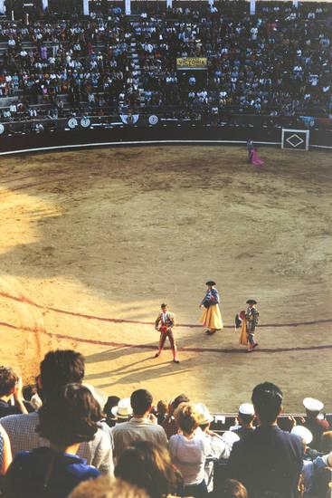 arena, Matador, Picadores, Stier, stierkampf, Stierkampfarena