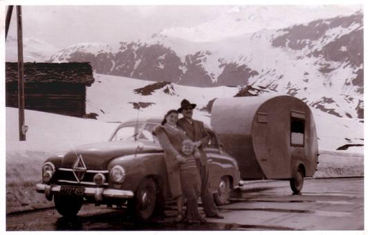 Italienreise 1950
