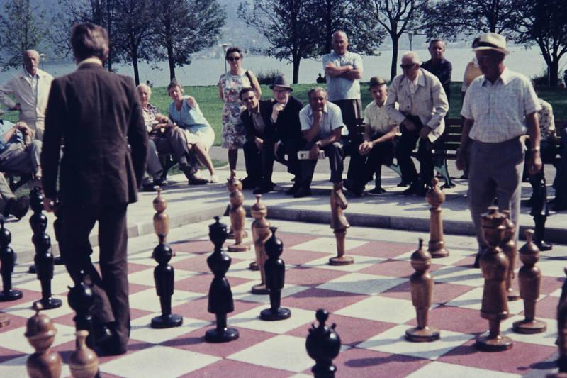 park, Schach, see