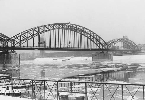 """""""Eisgang auf dem Rhein"""""""