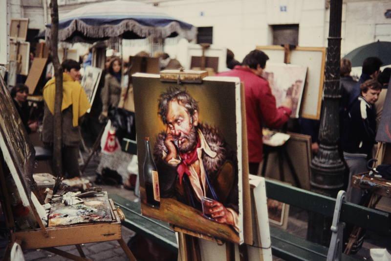 bild, Gemälde, kunst, Kunstmarkt, markt, Ölbild