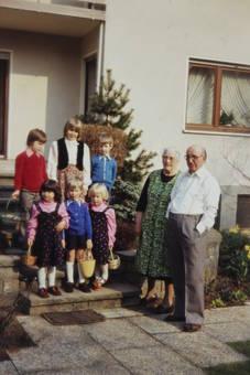 Ostern bei den Großeltern