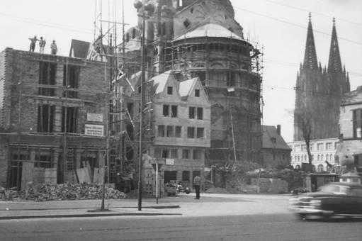 Wiederaufbau 1952