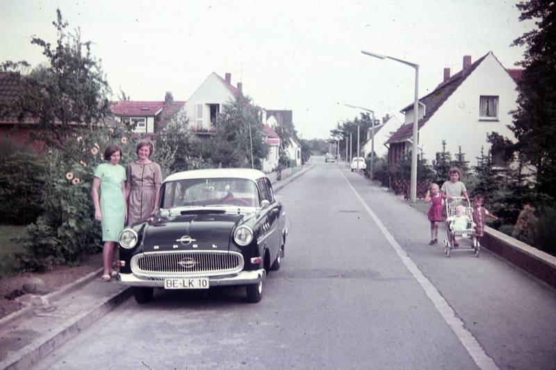 auto, familie, kinderwagen, Opel, Opel Rekord, Opel-Rekord-P1, wagen