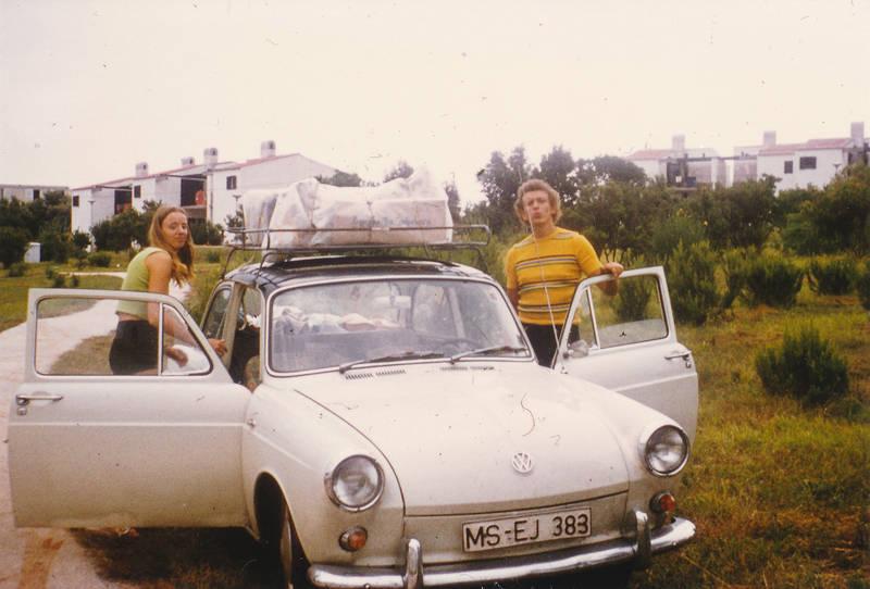 auto, autofahrt, Dachgepäckträger, Gepäckträger, KFZ, PKW, vw, VW-Typ-3