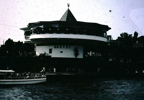 Kölner Bastei am Rheinufer
