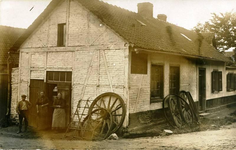 Bergheim, Quadraht, Quadrath-Ichendorf, schmiede, Urgroßeltern, Urgroßvater