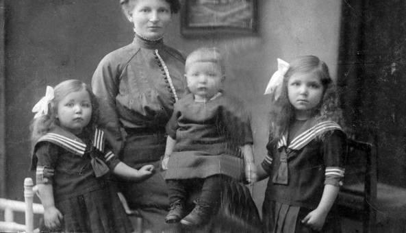 Familie Schatter um 1921