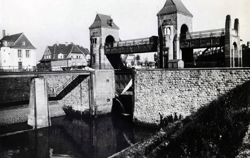 1920, Duisburg, KulturKanal, Rhein-Herne-KanaL, Schleuse