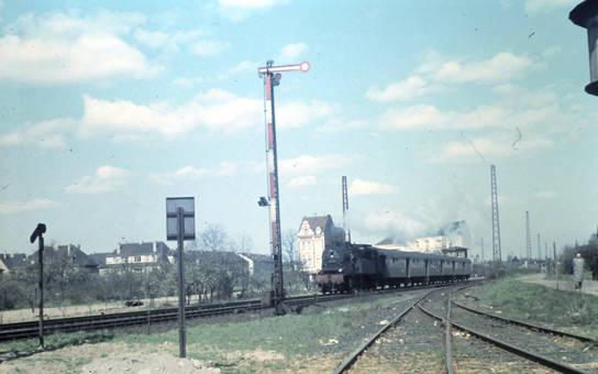 Dampfzug in Bonn-Kessenich