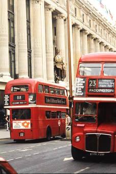 Londoner Doppeldeckerbus