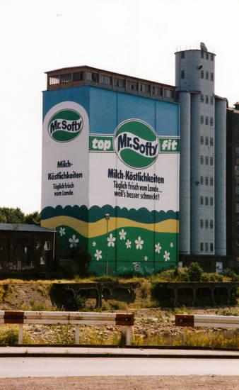 abriss, Duisburg, Innenhafen, Mr. Softy