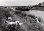 Sonnen am Kanal