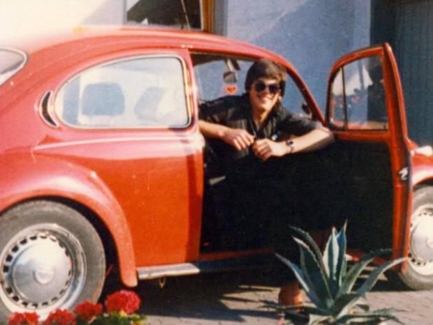auto, sonnenbrille, VW Käfer