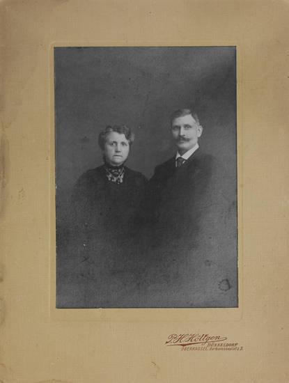 Carte de visite, ehepaar, Kabinettformat, Kabinettfoto, porträt
