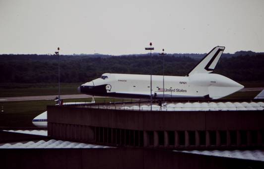 Space Shuttle in Köln