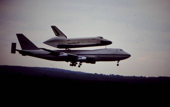 Landung der Enterprise in Köln