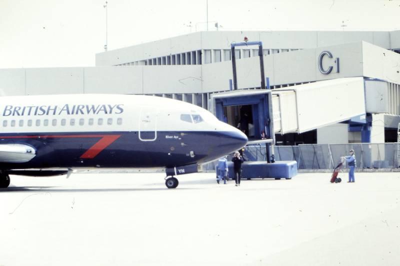 Airport, British Airways, Flughafen, flugzeug