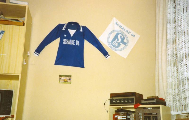 04, königsblau, Schalke, Stereoanlage, trikot