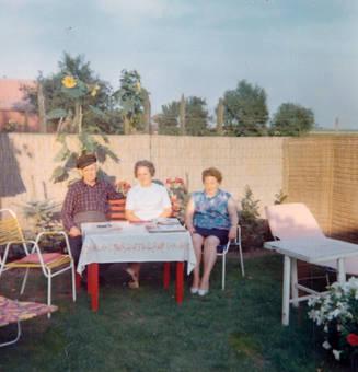 Am Gartentisch