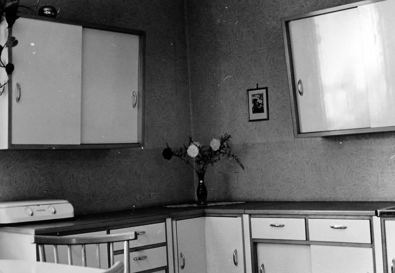 1957, hängeschrank, kocher, Küche, Unikat