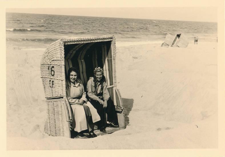 nachlass inge, strand, Strandkorb, Sylt