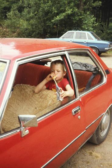 auto, KFZ, Kindheit, PKW, rekord-d, Rückbank, VW-K70