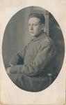 Porträt eines jungen Soldaten