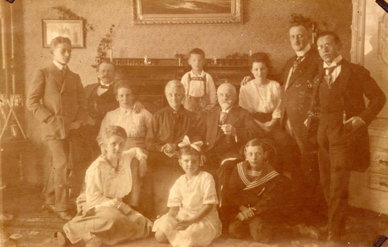 familie, familienfoto, Kindheit, mode