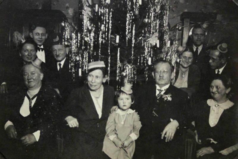 Baumschmuck, familie, Kindheit, Lametta, Pommern, Stettin, Szczecin, Weihnachten, Weihnachtsbaum, Westpommern