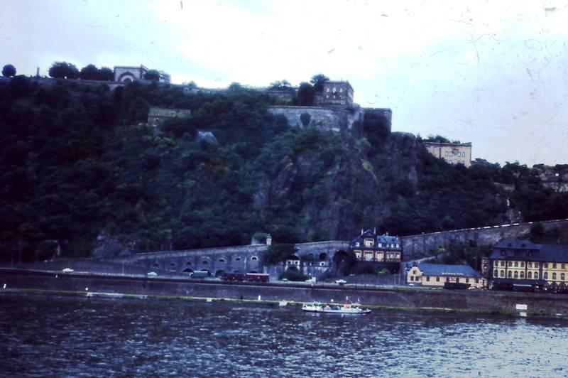 Deutsches Eck, Ehrenbreitstein, Festung, Koblenz, Rhein