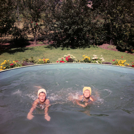 abkühlung, Badekappe, Kindheit, Schwimmen, Sommer, Swimmingpool