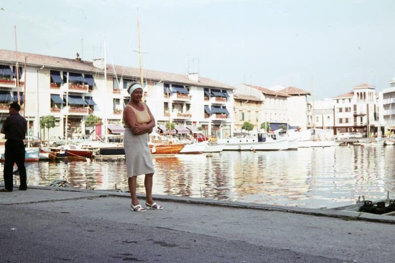 boot, Grado, Hafen, Italien