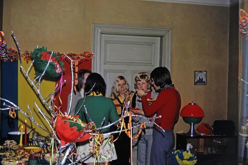 1971, Buffet, silvester, silvesterfeier