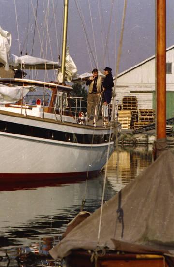 boot, Hafen, schiff, Segelboot, Segelschiff