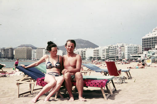 Am Strand von Las Palmas