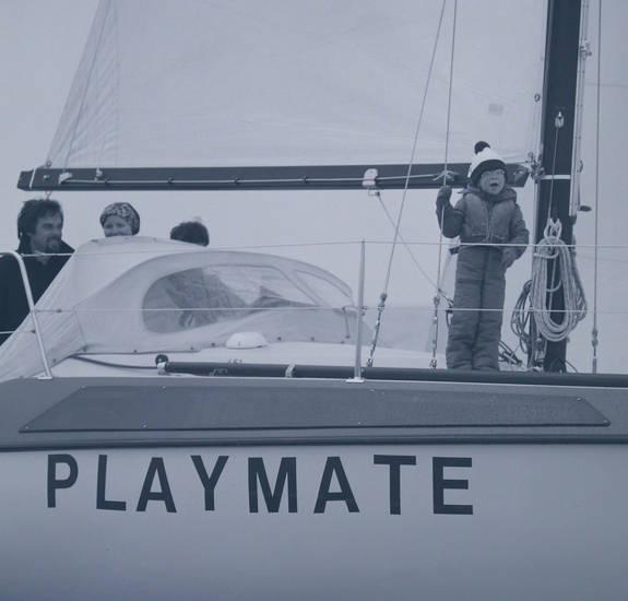 ausflug, familie, Kindheit, Reling, Segelboot, segeln